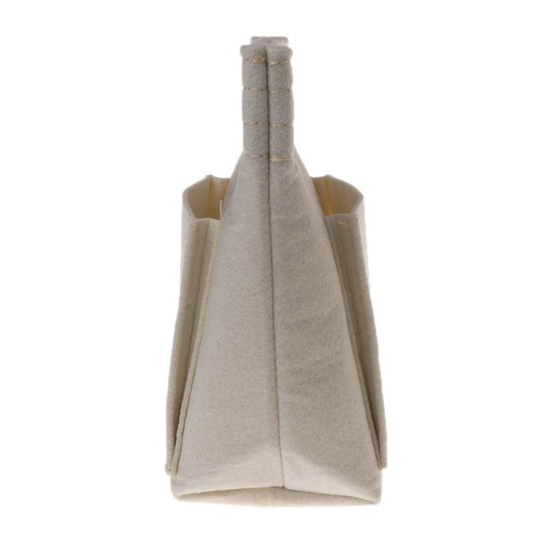 bc5deb51e17a THINKTHENDO Fashion Women Portable Felt Fabric Insert Handbag Tote ...
