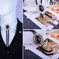 2017 Apressado Promoção Animal de Cristal Broche Broches Ônix Poirot Gravata Pin Colar Personalidade Do Vintage de Alta-grade Bolo Broche