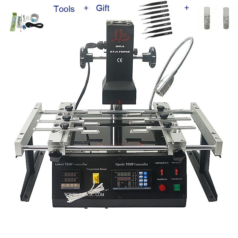 LY IR6500 V.2 Infrared IR BGA rework station for Motherboards Repair BGA Work achi ir6500 infrared bga soldering rework station flux
