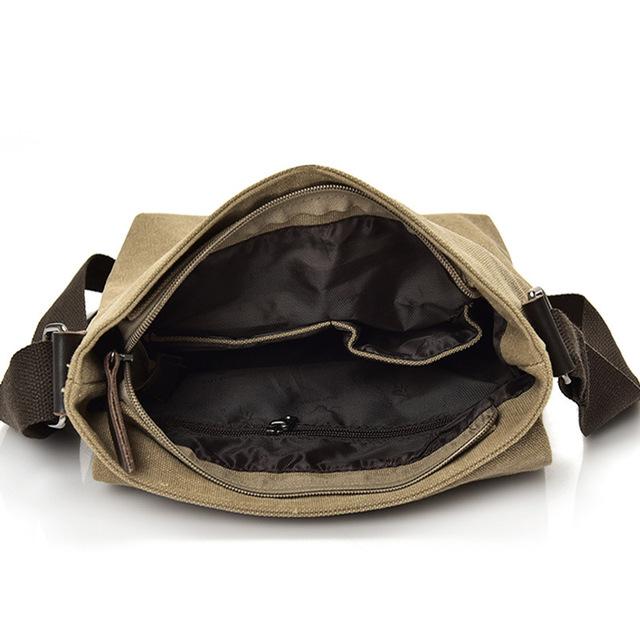 High-quality Men's Canvas Bag