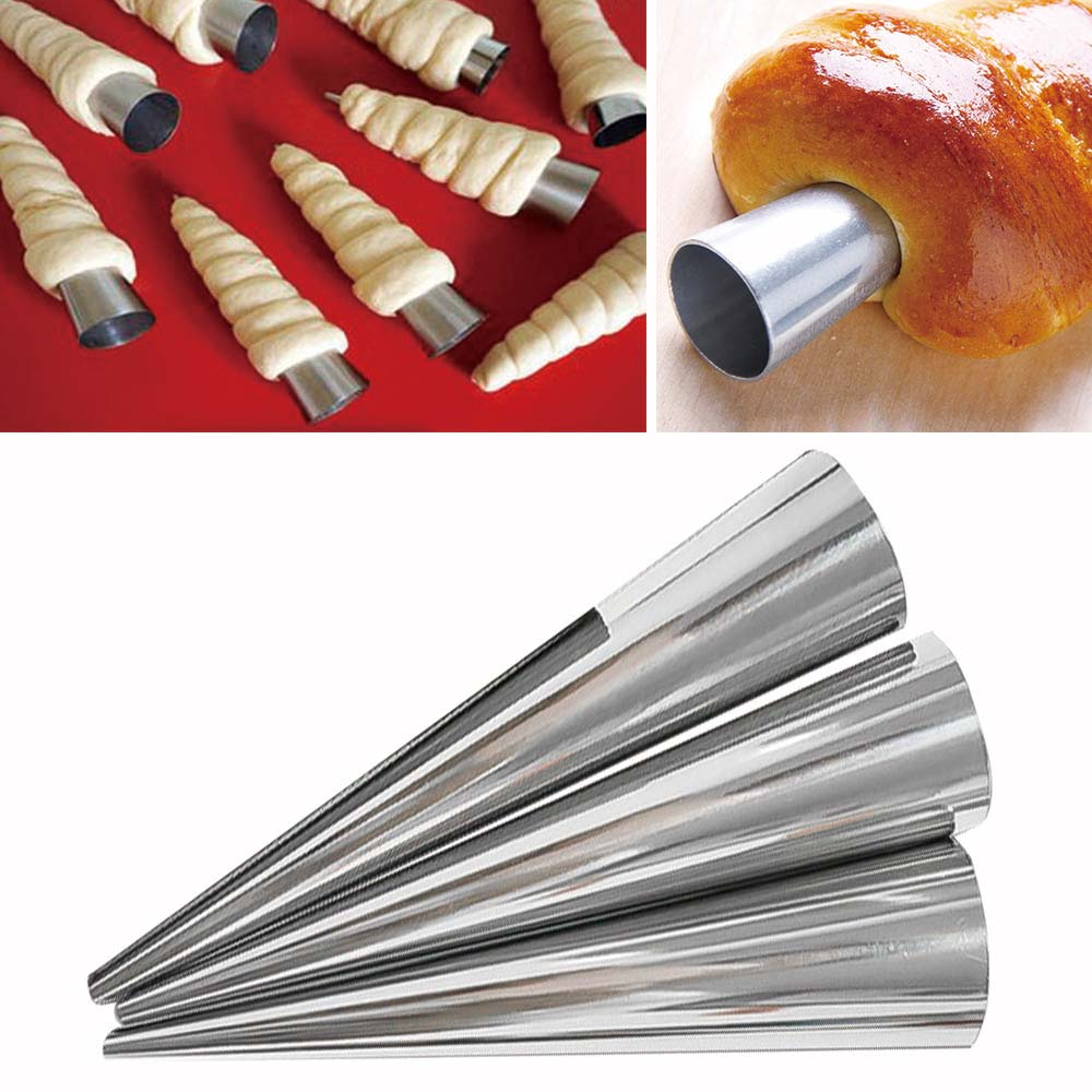 12 шт./компл. DIY инструмент для выпечки Cannoli форма для круассана нержавеющая сталь Desset хлебные кондитерские формы кухонные инструменты для приготовления пищи|Принадлежности для выпечки|   | АлиЭкспресс