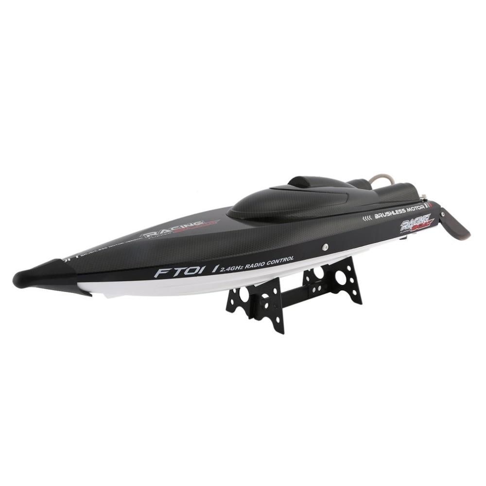 Feilun FT011 65 см 2,4G 2CH RC 55 км/ч высокоскоростная гоночная лодка корабль скоростная лодка с системой водяного охлаждения перевернутый бесщеточный...