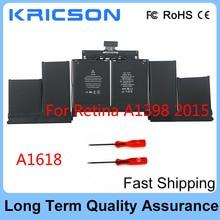 Orignal New Battery A1618 For Macbook Pro Retina 15″ A1398 2015 version Fit 020-00079 MJLQ2LL/A MJLT2LL/A