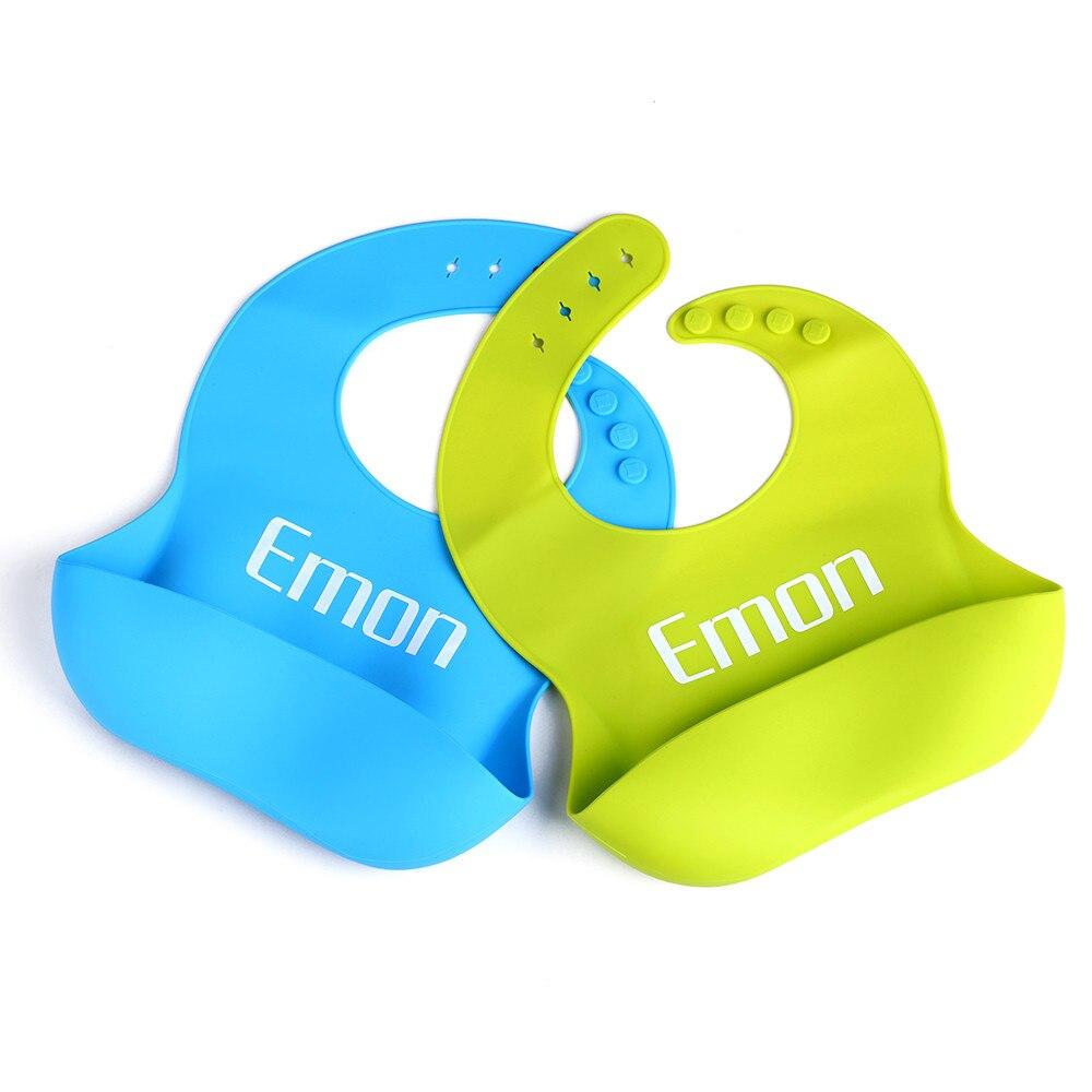 SB0002 Baby silicone bibs waterproof plastic adjustable Children's summer's baby Feeding Tools bibs easy clean& FDA certified  (2)