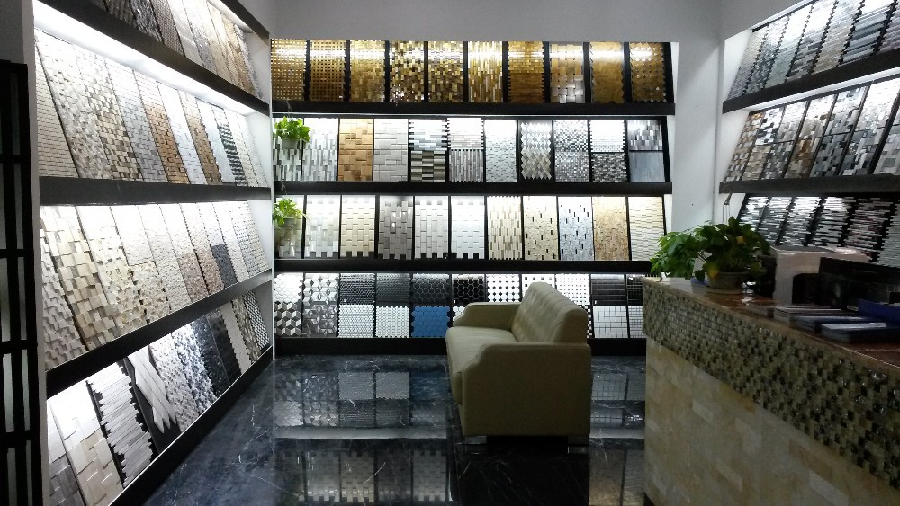 Wholesale 3D Natural stone mosaic kitchen backsplash tiles rustic ...
