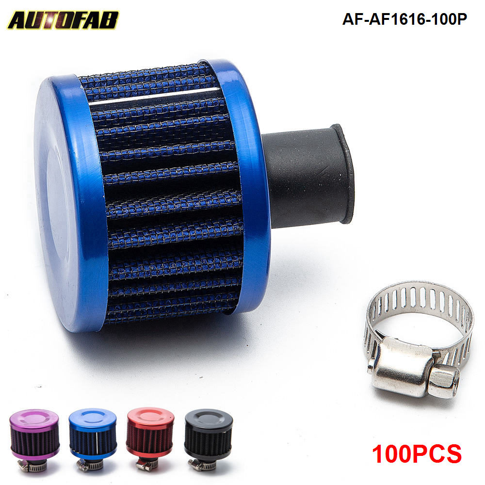 """BLACK 3.0/"""" Inches Inlet 76mm Air Intake Cone Dry Replacement Filter For Volks"""