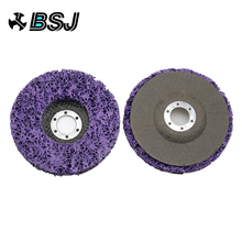 2pcs 125mm Poly Strip Disc Abrasive Wheel Paint Rust Removal Clean Mayitr For Angle Grinder Tools