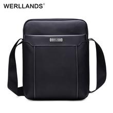 Werllands Водонепроницаемый сумка Оксфорд мужская сумка высокое качество роскошные сумки Регулируемый Ремень Через Плечо мужчины портфель для ноутбука