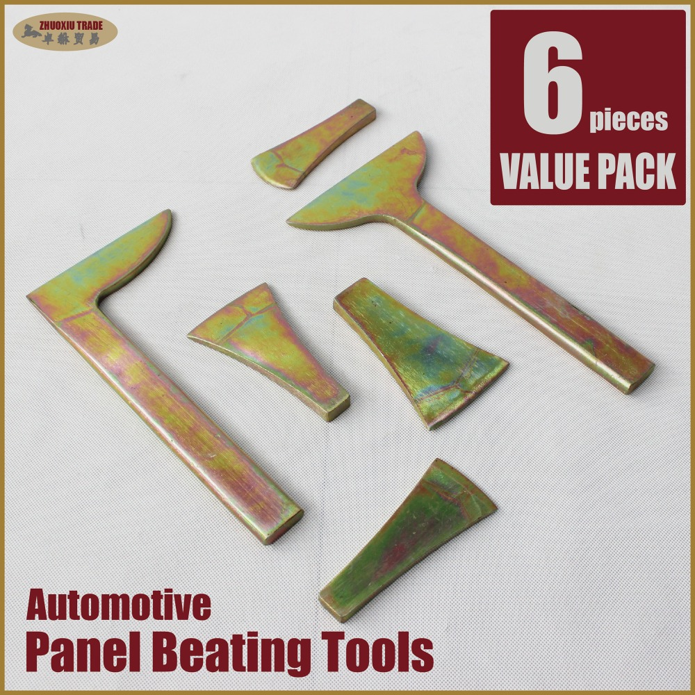 panel beating tools hammers dollies spoon car dent remover puller bumping equipment set automotive toolshop body working beater ...