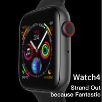 Iwo 10 relógio inteligente masculino feminino 44mm 1.54 polegada mtk2502 ecg monitor de freqüência cardíaca esporte atividade rastreador relogio smartwatch para apple Relógios inteligentes     -