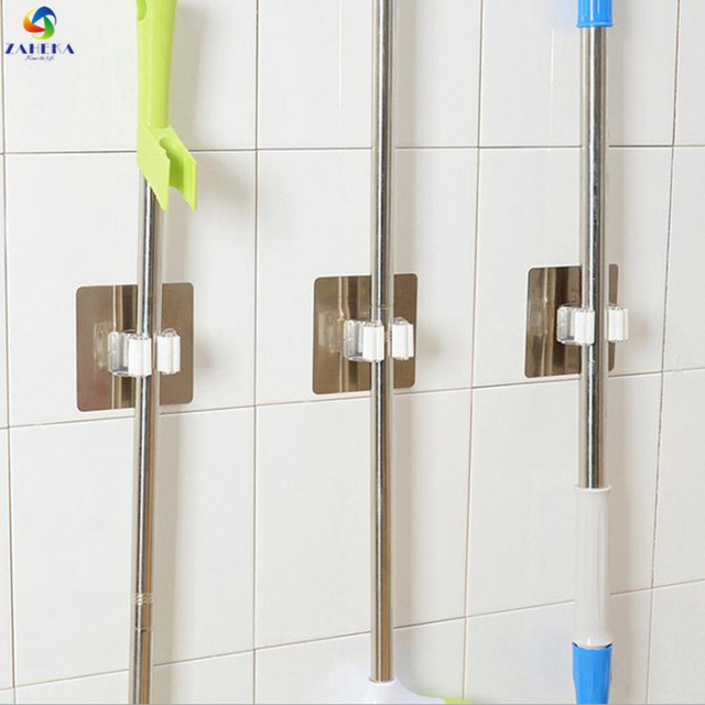 Charmant Hot Stainless Steel Wall Mounted Storage For Mop Brush Broom Mop Holder  Rack Hanger Tool Kitchen