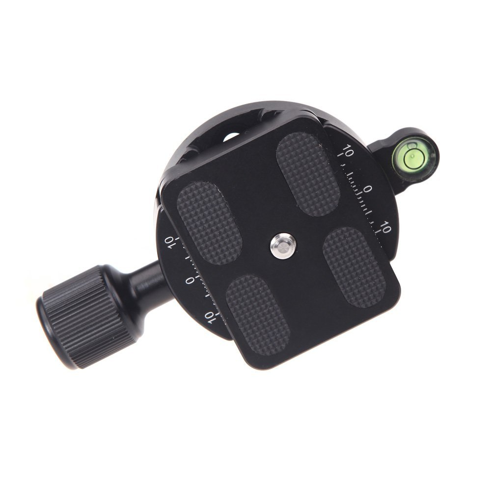 Brand New DM-55 Clamp and QR Quick Release Plate with Gradienter for 55mm Camera Ball Head Arca Swiss RRS Wimberley