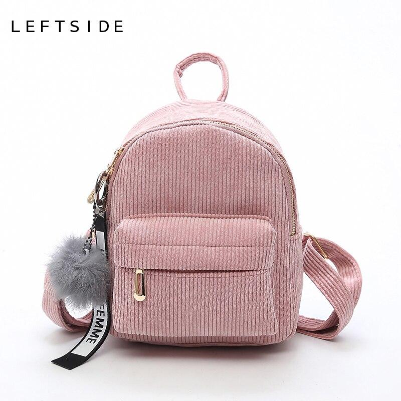 nuevo concepto 1fa01 3d246 € 12.85 49% de DESCUENTO LEFTSIDE mujeres 2018 Linda mochila para  adolescentes niños Mini Pack trasero Kawaii niñas niños mochilas pequeñas  bolsas ...