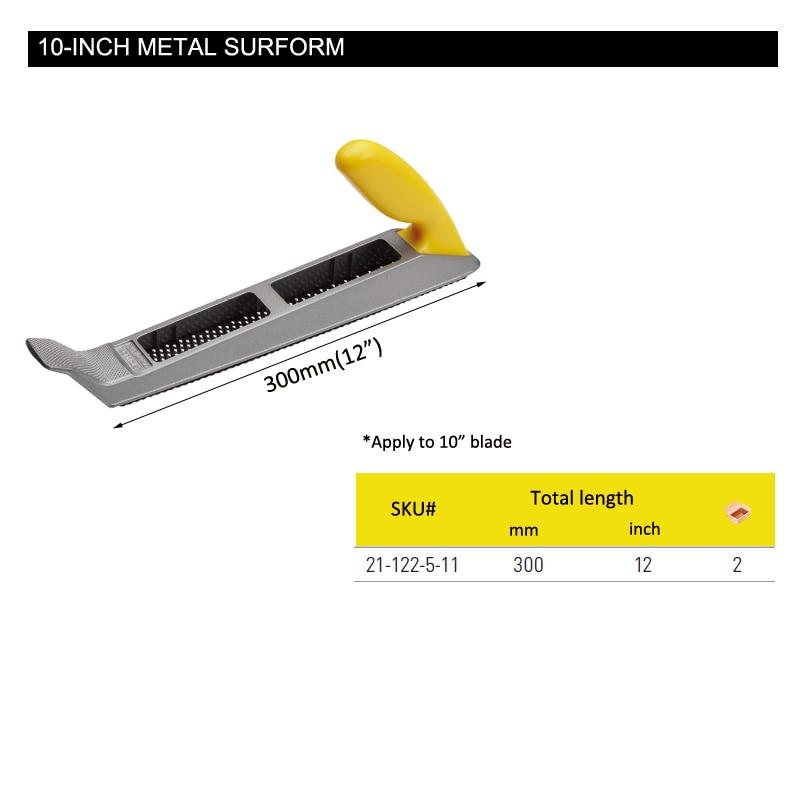 Stanley tools 1 piece 10″ surform plane metal body sharp shaver tools