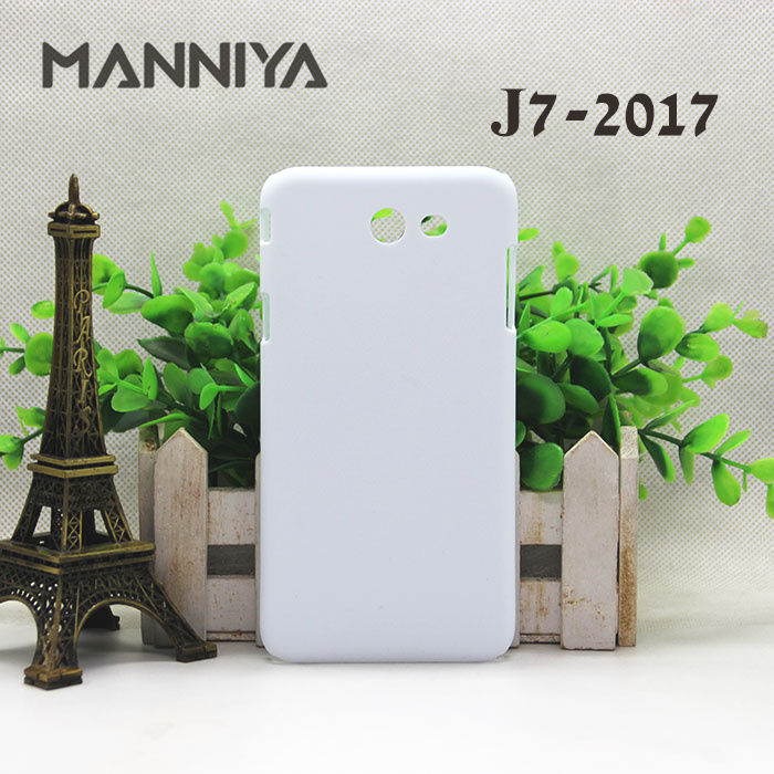 MANNIYA for <font><b>Samsung</b></font> Galaxy J3 J4 J6 <font><b>J7</b></font> J8 <font><b>3D</b></font> Sublimation Blank White Cases 10pcs/lot image