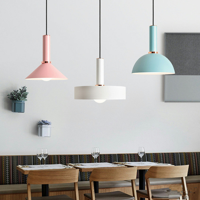 Simple nordic restaurant pendant light cafe lamp danish designer simple nordic restaurant pendant light cafe lamp danish designer postmodern lamp macaroons multicolor clothing store lamp mozeypictures