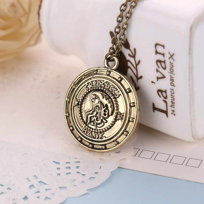 Boosbiy European and American Film and Television Accessories HP Gringotts Bank Alloy New Necklace BHA027