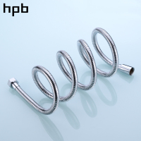 HPB 1.5m G1/2 Anti Twist Bathroom Stainless Steel Flexible Plumbing Hose Tube Shower Set Accessories Hand Held Pipe HP7105