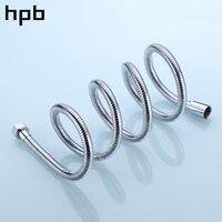 HPB 1.5m G1/2 Anti Twist Bathroom Stainless Steel Flexible Plumbing Hose Tube Shower Set Accessories Hand Held Pipe HP7105