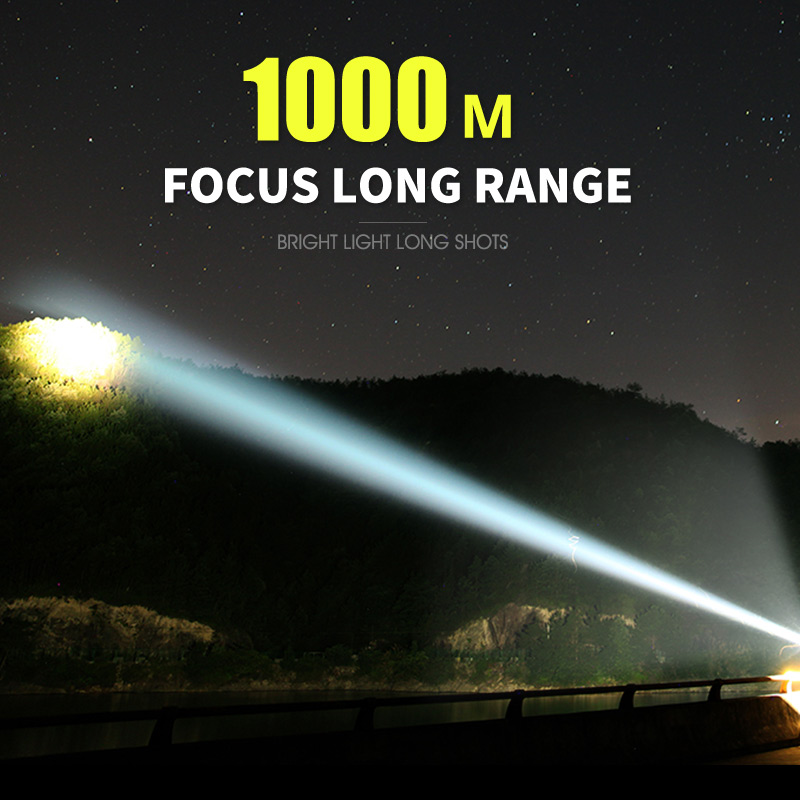 lowest price Super Powerful XHP90 LED Flashlight XHP70 Zoom Tactical Torch Waterproof Ultra Bright Lantern XHP50 Lamp 18650 USB Rechargeable
