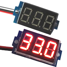 New Arrival New Direct Current DC 0-200V 0.36Inch Red LED Digital Display Voltmeter Panel