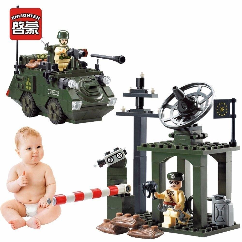 Просвіть військові діти Танцор - Конструктори та будівельні іграшки