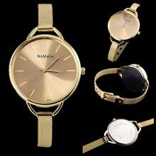 Venda quente relógio marca de luxo mulheres de ouro da moda relógios das mulheres relógios senhoras relógio de aço completa mulheres relógio relogio saat feminino