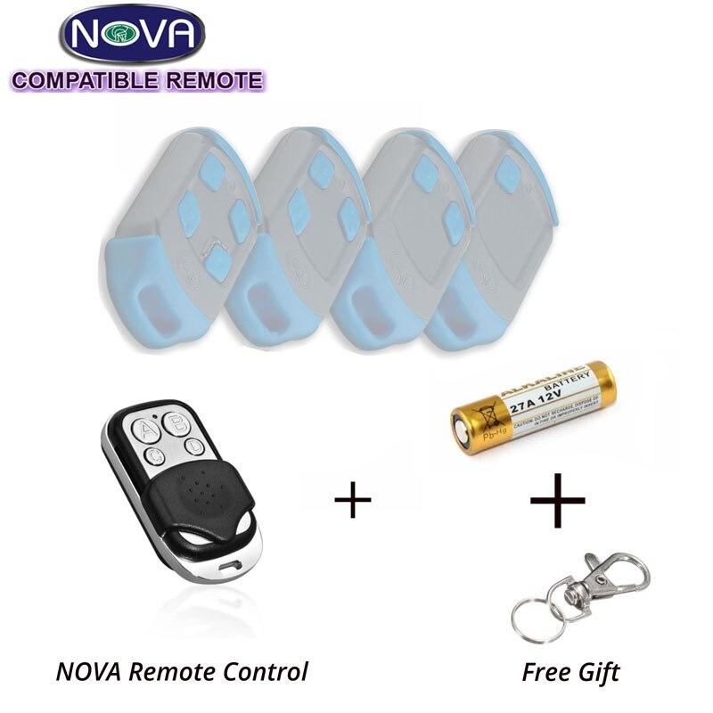 Wholesale 50pcs Centsys Centurion NOVA Blue Compatible Garage Remote new nova centurion blue gate garage remote control replacement