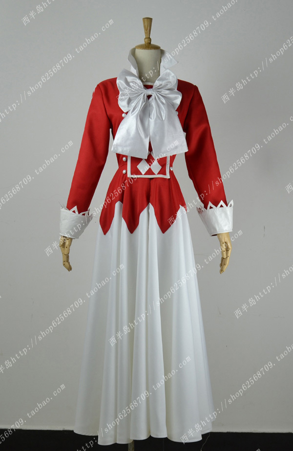 Pandora Hearts Alice Party Lolita Dress Skirt Uniform Cosplay Anime Costume Any Size Free Shipping plus size light up cosplay party skirt
