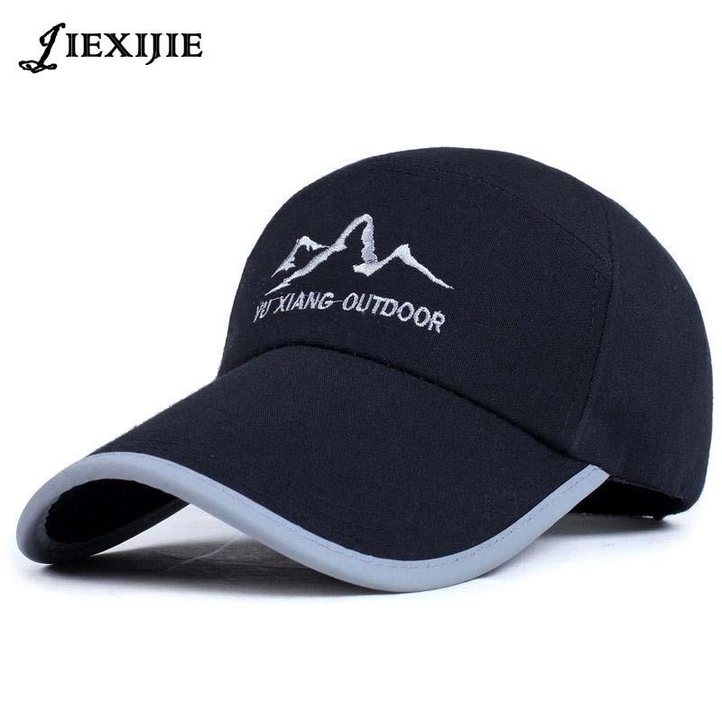 Reflexiva da segurança hatSun snapack chapéus boné de Beisebol Bonés de beisebol Dos Homens mulheres tampão do camionista masculino jxj-203
