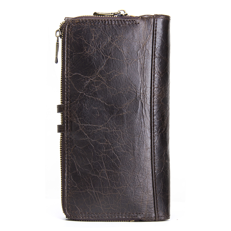 CONTACT'S Genuine Leather Men Purse Long Wallets With Cell Phone Pocket Women Fashion Clutch Wallet Coin Purses Female Walet Men Men's Bags Men's Wallets cb5feb1b7314637725a2e7: Coffee|Green|Red