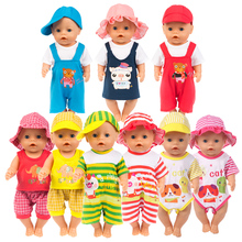 Leisure Set Doll Clothes Fit For 17inch/43cm Zapf Baby Born Accessories