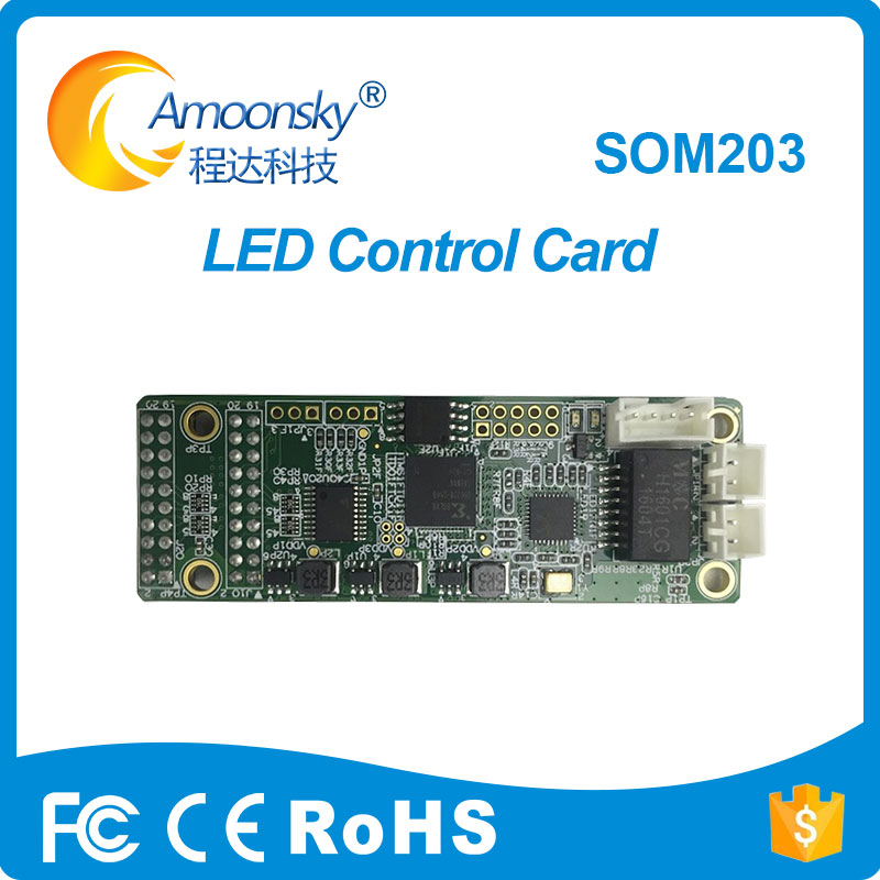 LINSN SOM203 Led Receiving Control Card Mini Receiver For Full Color Led Screen Display New Design