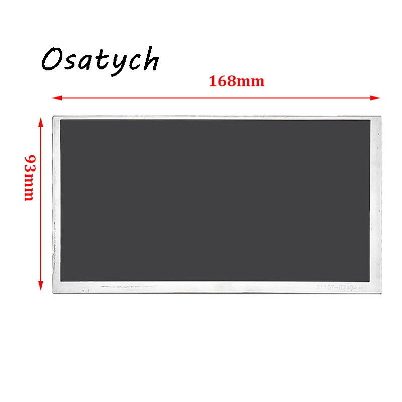 Tablet LCD Digitizer Screen Display Panel For LG Display 7 Inch LA070WQ1-TD01 Replacement Monitor