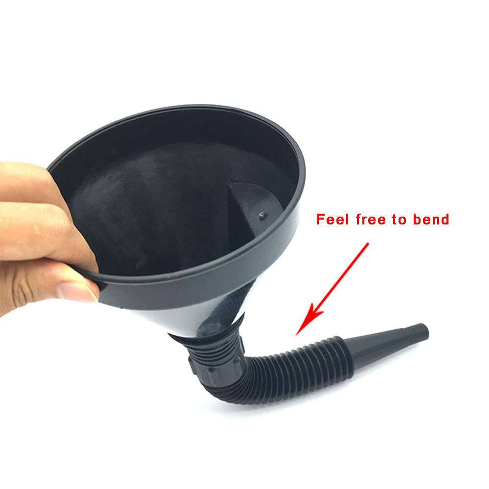 Motorcycle Auto Car Flexible Refueling Funnel Water Oil ...