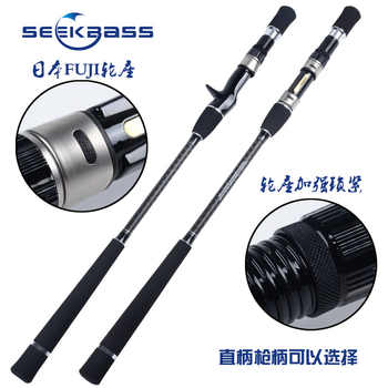 SeekBass Slow jigging fishing rod 1.93m Full FUJI Parts slow jig fishing rod JIG WEIGHT:80-280G slow pitch jigging rod