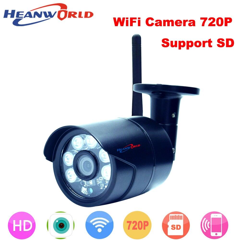Heanworld Outdoor Waterproof Wireless IP camera wifi micro SD card CCTV Network Surveillance Security Camera for