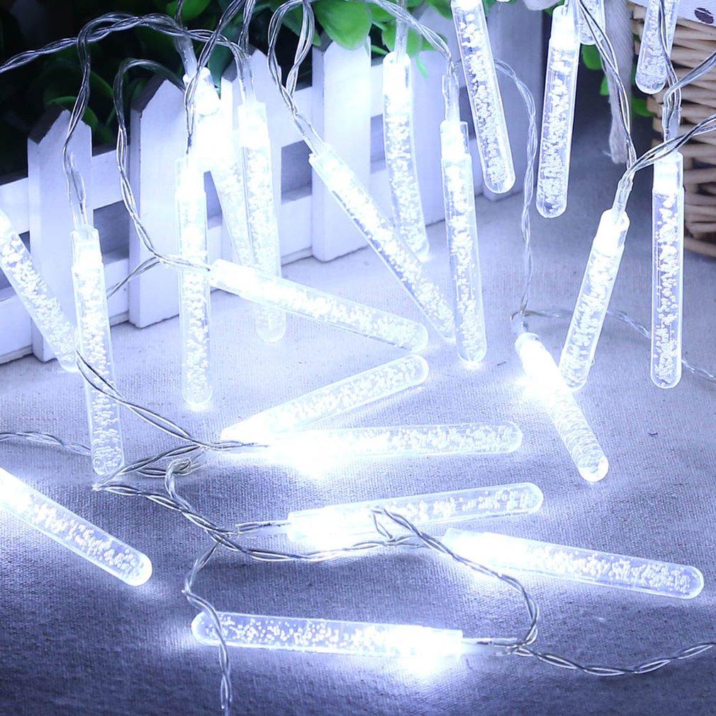 ICOCO Christmas Tree Decoration Lamp String 20 LED Battery Powered Bulb Column IP44 Courtyard Decorative Light Strings BZ509