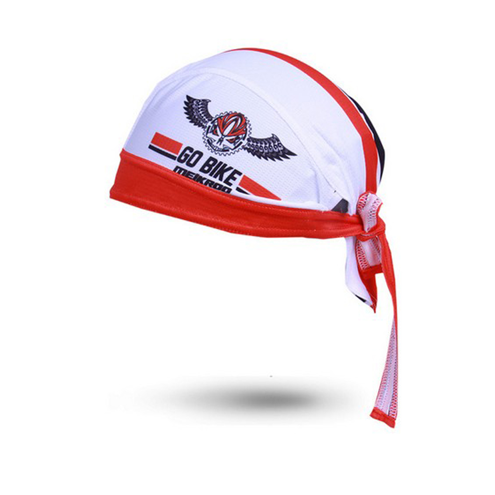 Outdoor Sport Women Men Bike Bicycle Bandana Hat Breathable Sweat Cycling Helmet Cap Skull Pirate Head Scarf Headband   Headwear