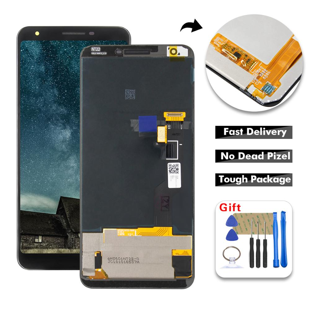 For Google Pixel 3A XL LCD Screen G020A G020E G020B LCD Display Digitizer Screen Touch Panel Sensor Assembly  Replacement Parts