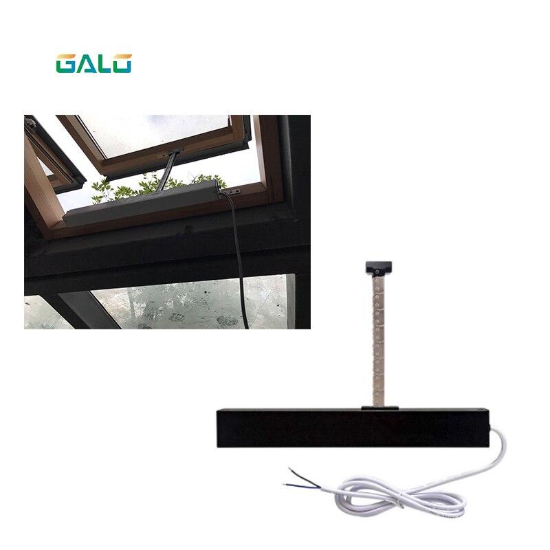 Ouvre-fenêtre automatique pour la maison/ouvre-fenêtre électrique pour la maison (télécommande + récepteur inclus) ouvert 300mm argent - 2