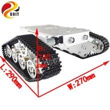 DOIT T300 RC Robot Car with ESPduino Development Board+Motor Drive Shield Board+HD Camera+Open Wrt for Arduino