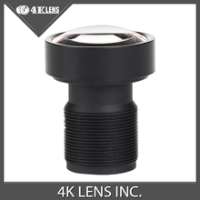 4K LENS 1/2.3″ 3.8MM Gopro Lens 16MP M12 Mount Low Distortion for Hero 4 Black Camera 2016 Newly Coming