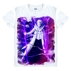 Image 5 - 애니메이션 나루토 t 셔츠 uchiha 사스케 t 셔츠 아카츠키 uchiha itachi shuriken uzumaki 나루토 보루 토 코스프레 의상 top tee shirt