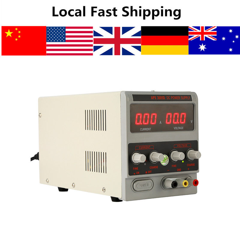 Digital Laboratory Power Supply 0 30V 0 5A 220V DC Power Supply Stabilizers Lab Grade Adjustable