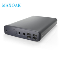 MAXOAK K2 Laptop Power Bank DC 20V 3A 12V 2 5A Fast Charge Ports External Battery