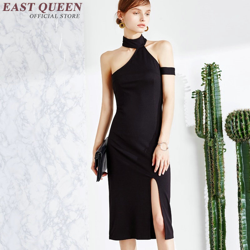 Fashion q black dress online