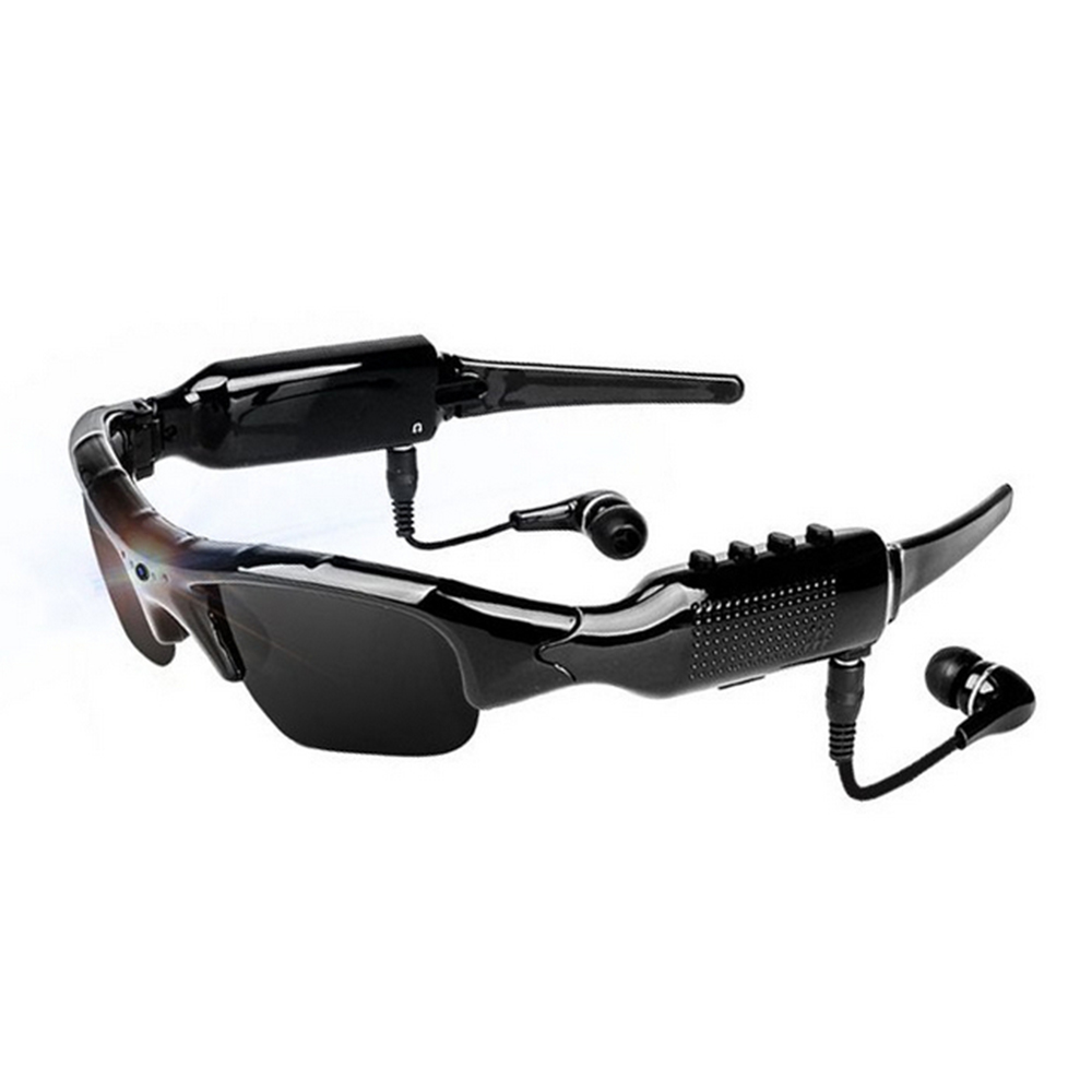 Sports Smart MP3 Function Camera Glasses HD Sunglasses Sports Outdoor Riding Glasses Chat Online Video Smart Eyewear Camcorder