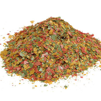 100 g/paquete de alimento para peces de acuario, escamas de Tetra para peces tropicales, peces ornamentales marinos, peces pequeños de colores, comida de alimentación Koi