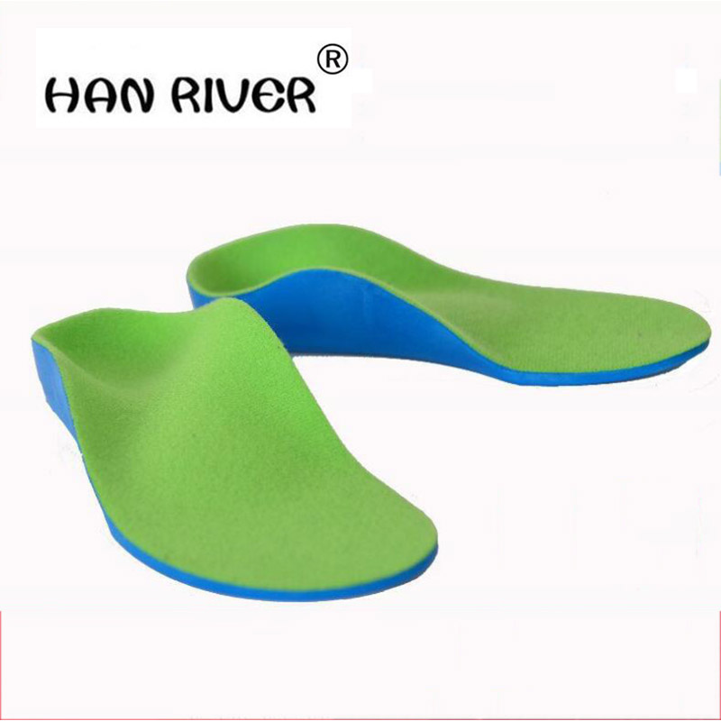 HANRIVER Flatfoot children flatfoot orthodontic correction of eight legs pad inside and outside the xo leg foot inside and outsi